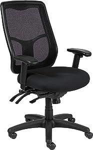 Eurotech Seating Apollo High Multifunction Chair, Black