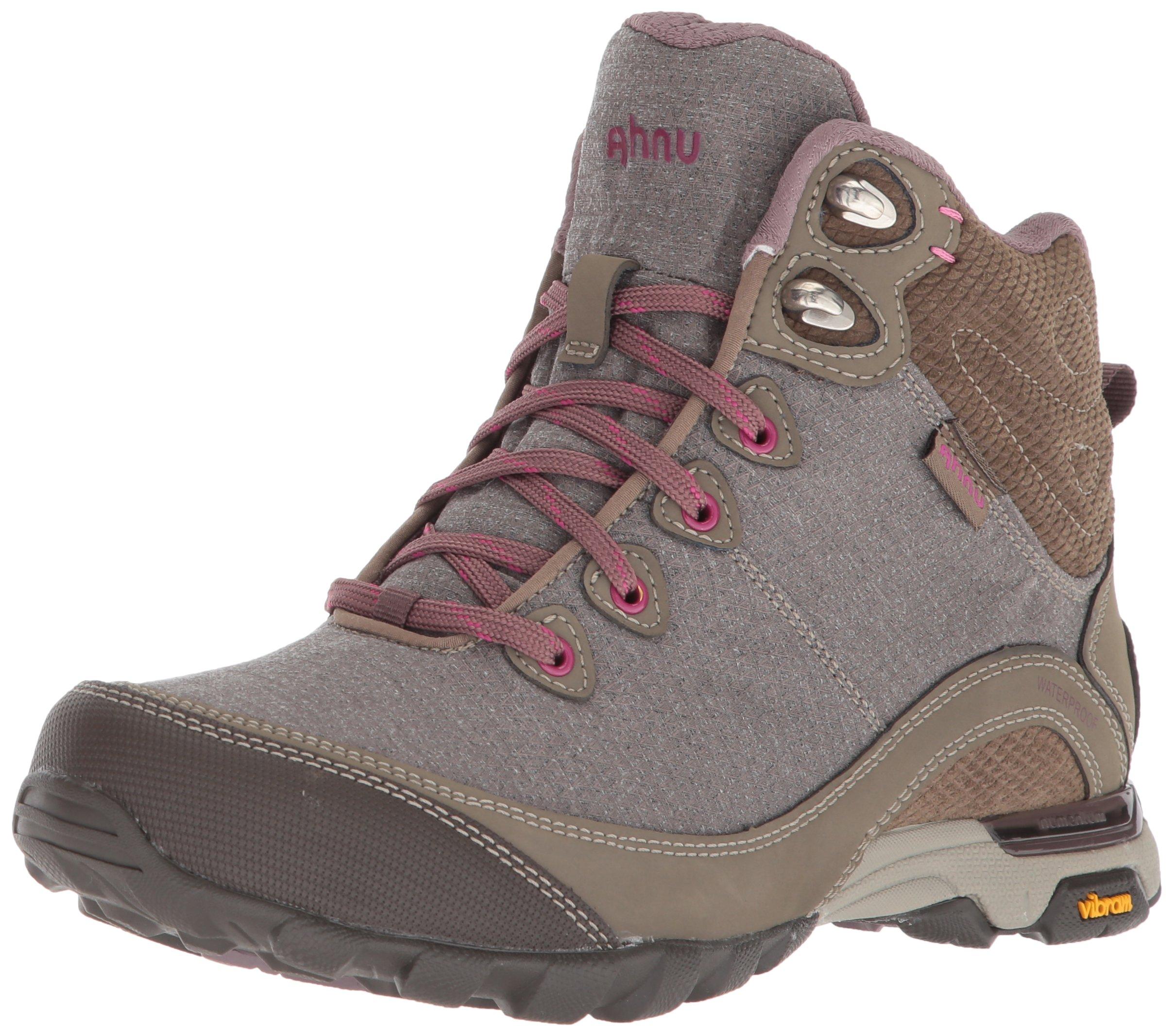 Ahnu Women's W Sugarpine II Waterproof Hiking Boot, Walnut, 6.5 Medium US