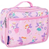Wildkin Lunch Box, Insulated, Moisture Resistant, and Easy to Clean with Extras for Quick and Simple Organization, Ages 3+, Perfect for Kids or On-The-Go Parents, Olive Kids Design – Fairy Princess