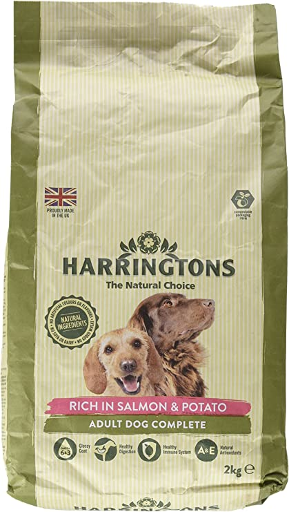 Amazon Com Harringtons Complete Dry Dog Food Rich In Salmon And