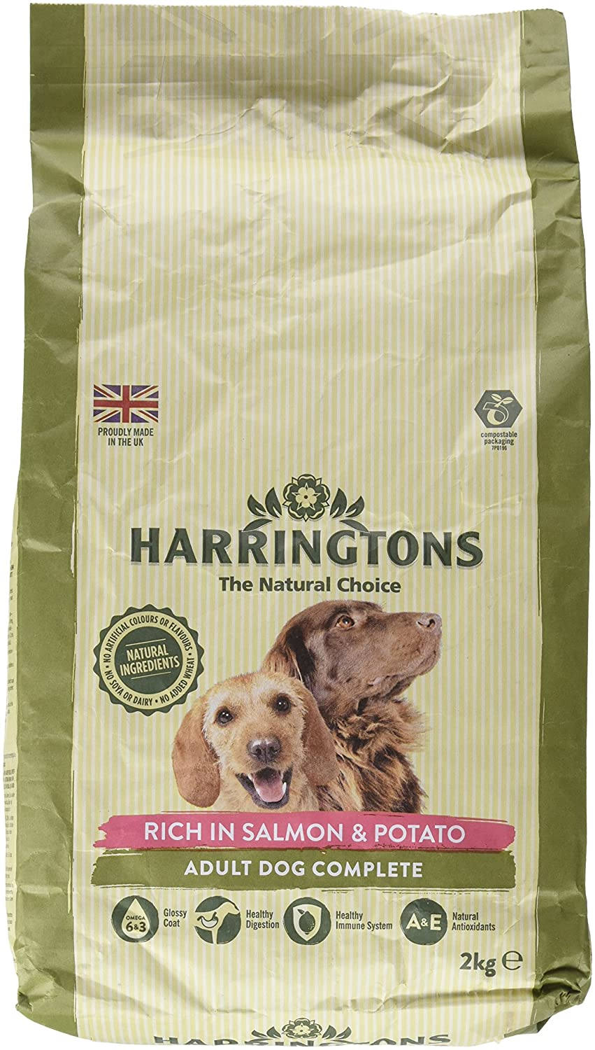Amazoncom Harringtons Complete Dry Dog Food Rich In Salmon
