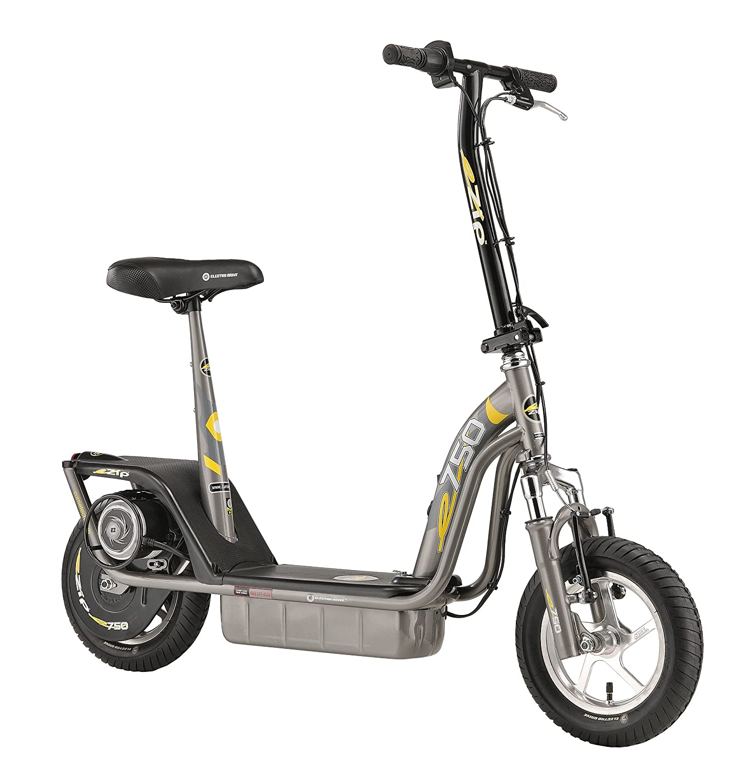 Currie Technologies 750 Ezip Electric Scooter Grey