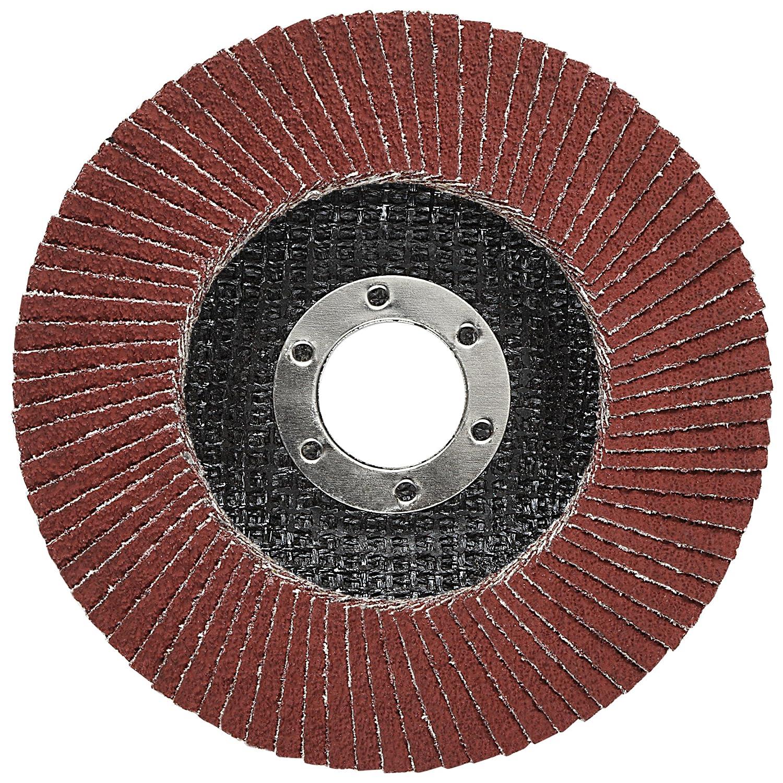 Polyester Film Backing Giant T27 4-1//2 x 7//8 40+ YF-Weight Cubitron II 64406 3M Flap Disc 969F 4.5 Diameter Precision Shaped Ceramic Grain Abrasive Grit