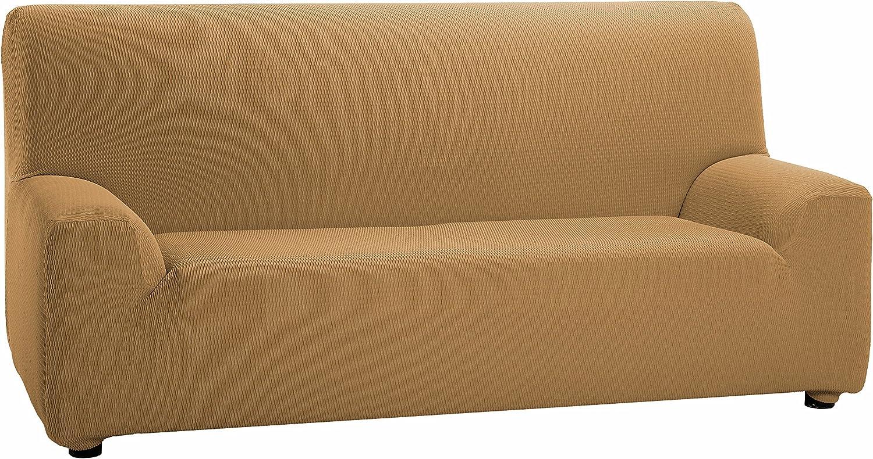 Martina Home Tunez - Funda elástica para sofá, Visón, 1 Plaza (70-110 cm)