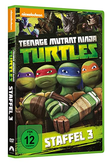 Teenage Mutant Ninja Turtles - Season 3 Alemania DVD: Amazon ...