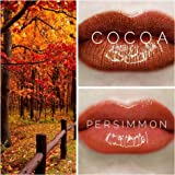 LIPSENSE FALL COLOR BUNDLE (4 PCS): 2 COLORS(1 COCOA+1 PERSIMMON + 1 GLOSSY GLOSS + 1 REMOVER