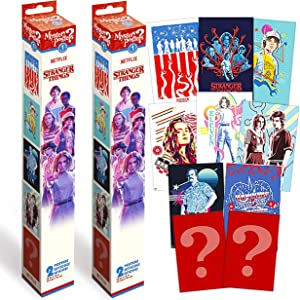 Stranger Things Poster Mystery Bundle Set ~ 4 Pack Mystery Stranger Things Wall Posters for Kids Adults (Stranger Things Party Decorations Room Decor Wall Art)