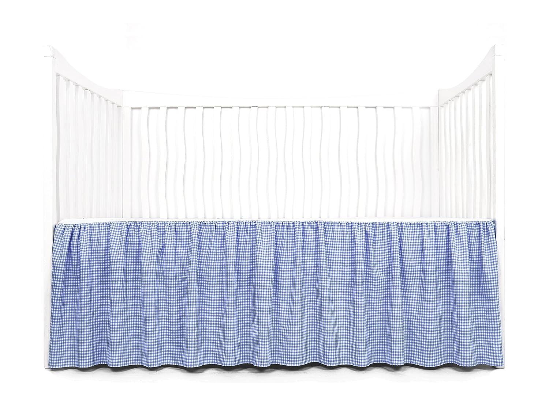 Tadpoles Dust Ruffle Crib Skirt, Pink bdrbmf004