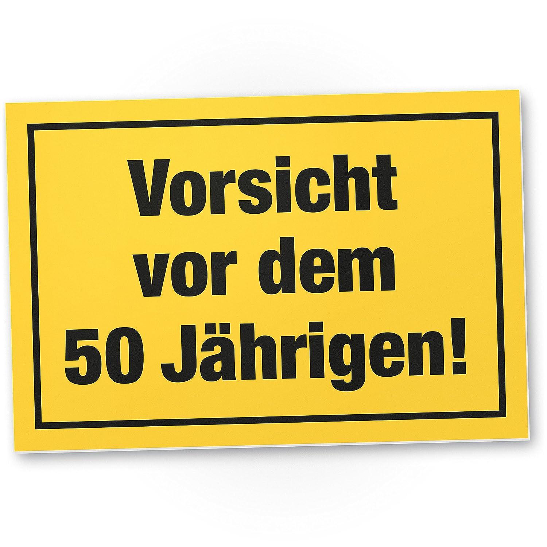 Dankedir Vorsicht Vor Dem 50 Jahrigen Kunststoff Schild Geschenk