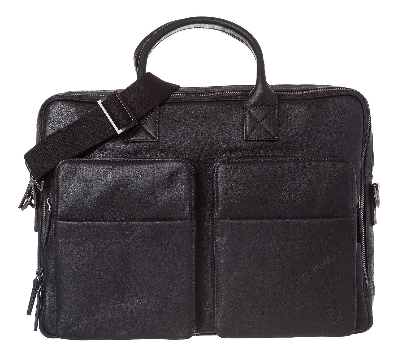 VON HEESENメッセンジャーバッグ、ブラック(ブラック) - 900350451-ブラック B01CLJG1U0