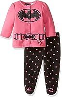 Warner Brothers Baby Girls' BatBaby Girl Fleece Jacket and Pant Set