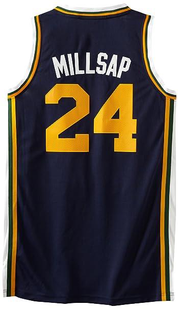 differently 4f9dd 84be3 NBA Utah Jazz Swingman Jersey Paul Millsap #24 Jazz