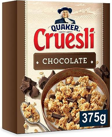 Quaker - Cruesli Chocolate 375 g: Amazon.es: Alimentación y bebidas