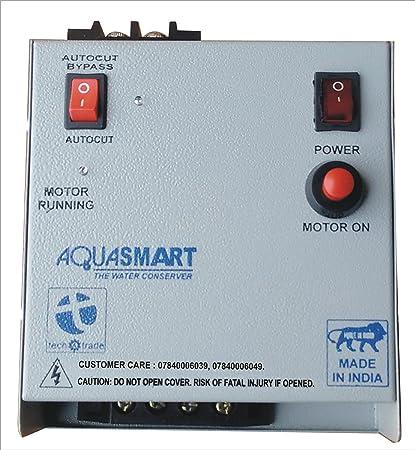 Tech And Trade Aquasmart Semi Automatic Water Tank Overflow Controller Alarm Indicator