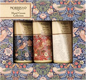 Morris & Co Strawberry Thief 3 x 30ml Hand Creams, 180 g