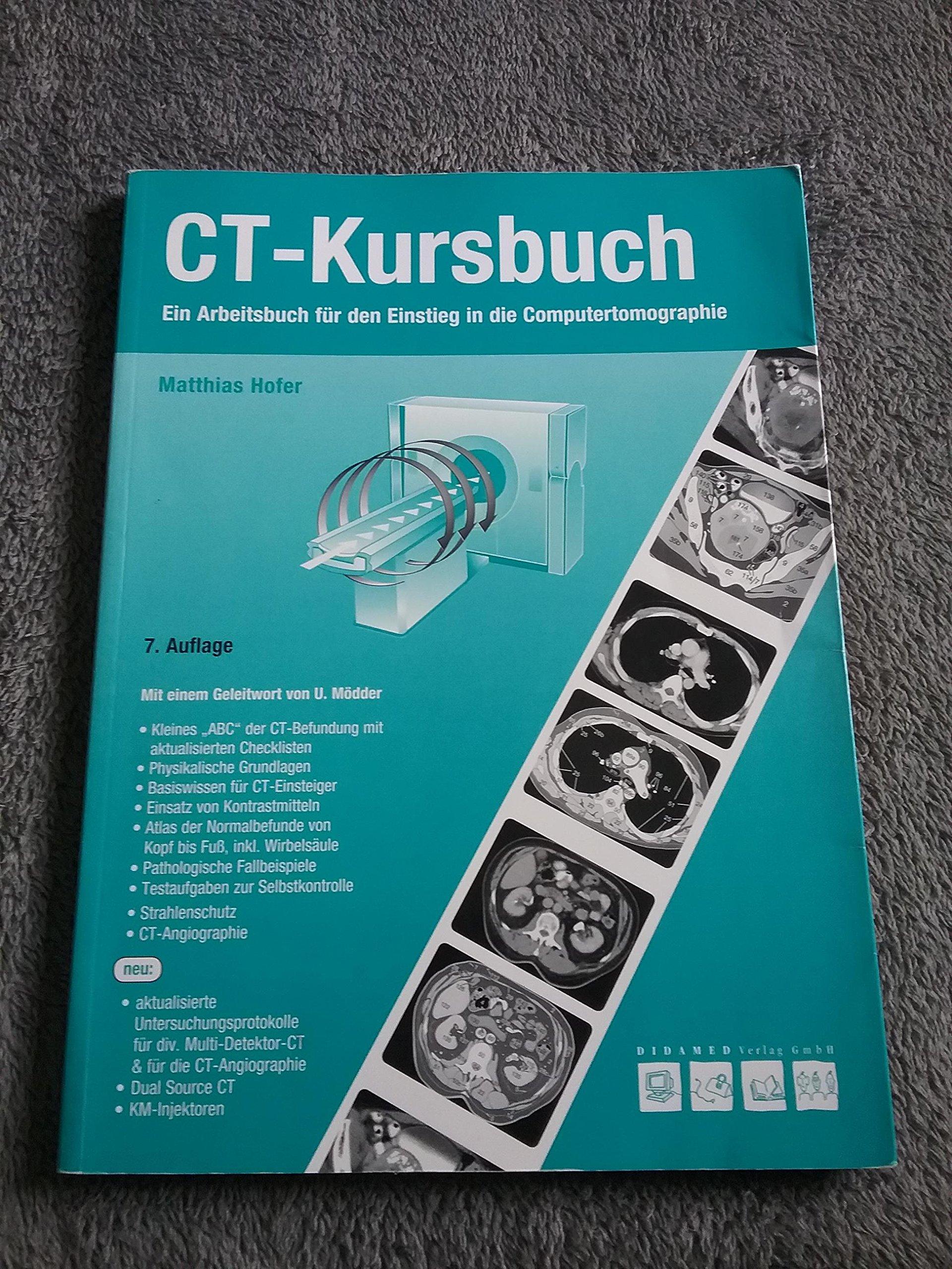 CT-Kursbuch: Ein Arbeitsbuch für den Einstieg in die ...