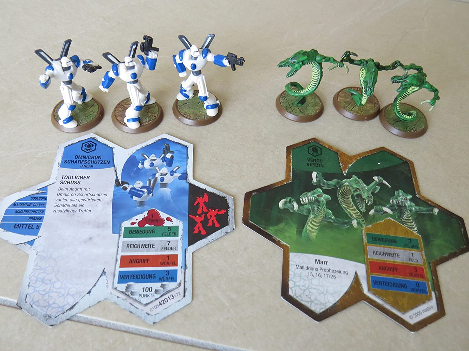 HeroScape  Malliddon's Prophecy  Snipers and Vipers by Wizards of the Coast