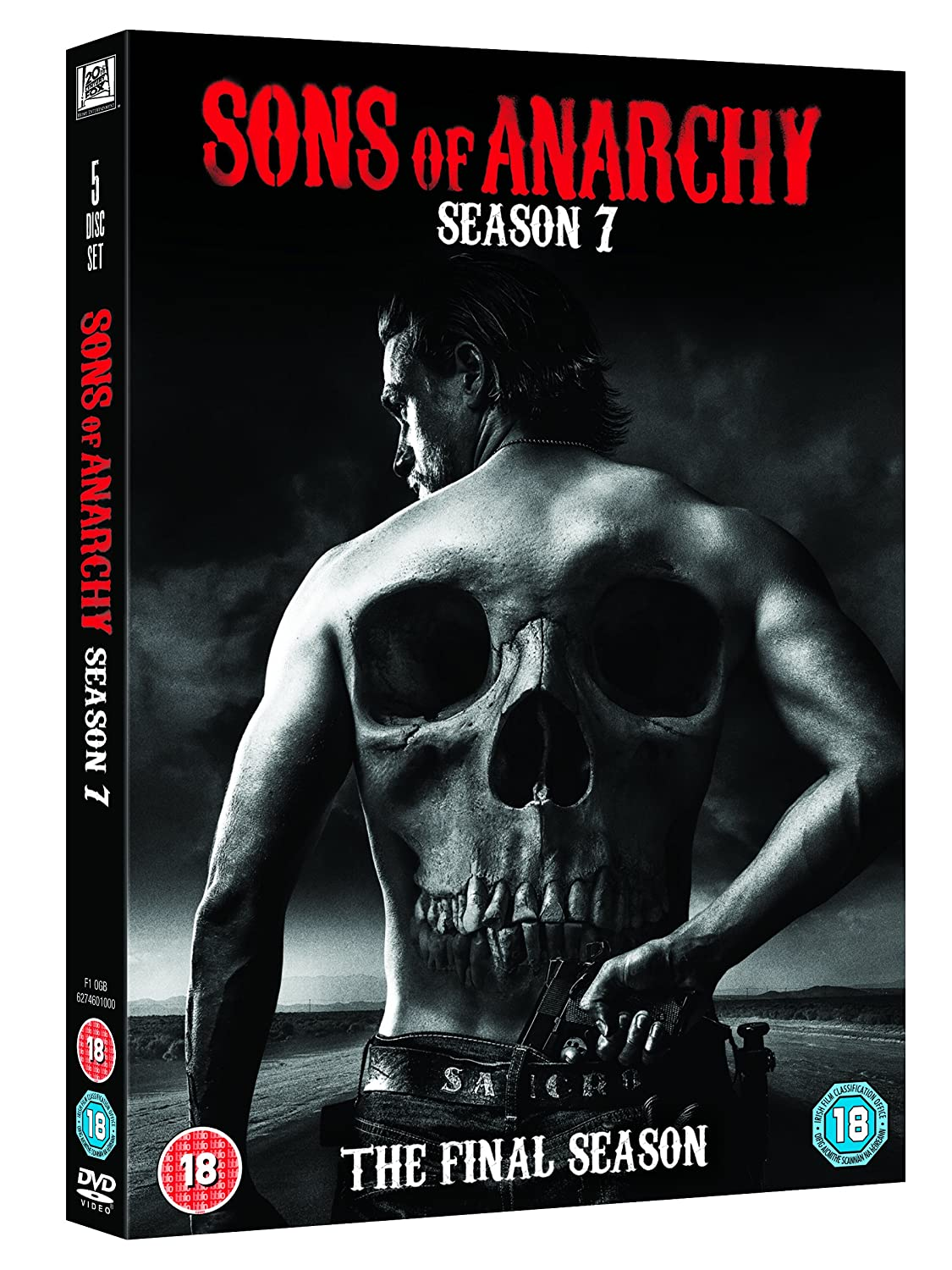 Amazon Com Sons Of Anarchy Season 7 Dvd Movies Tv