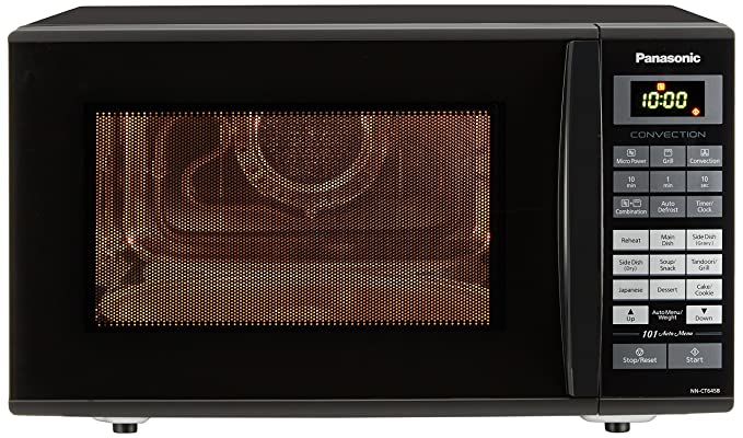 Panasonic 27 L Convection Microwave Oven NN CT645BFDG Black