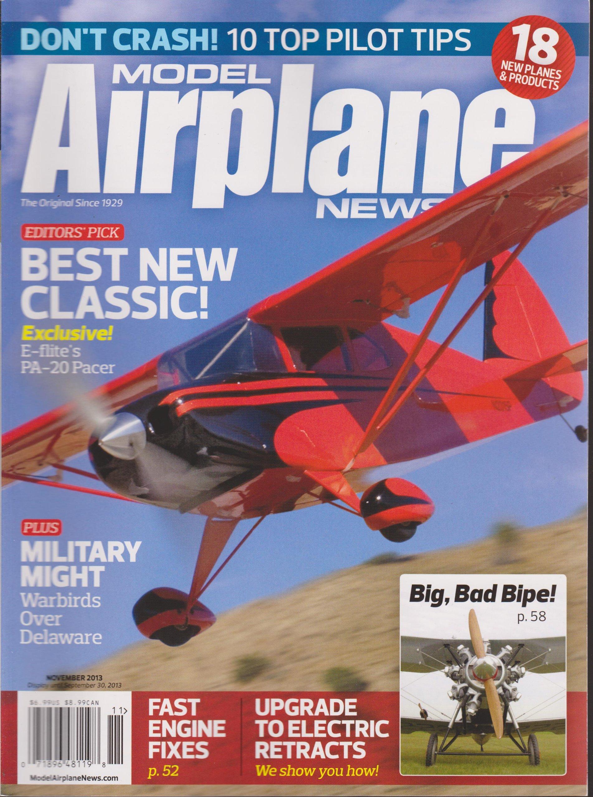Read Online Model Airplane News Magazine November 2013 ebook