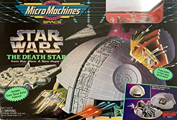 Micro Machines Star Wars Death Star by Galoob MicroMachines ...