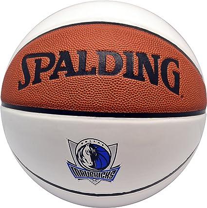 Spalding NBA – Balón de baloncesto de autógrafos piel Dallas ...