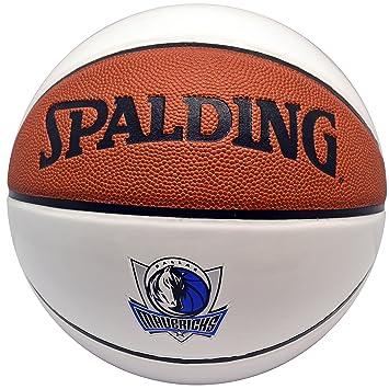 Spalding NBA - Balón de baloncesto de autógrafos piel Dallas ...