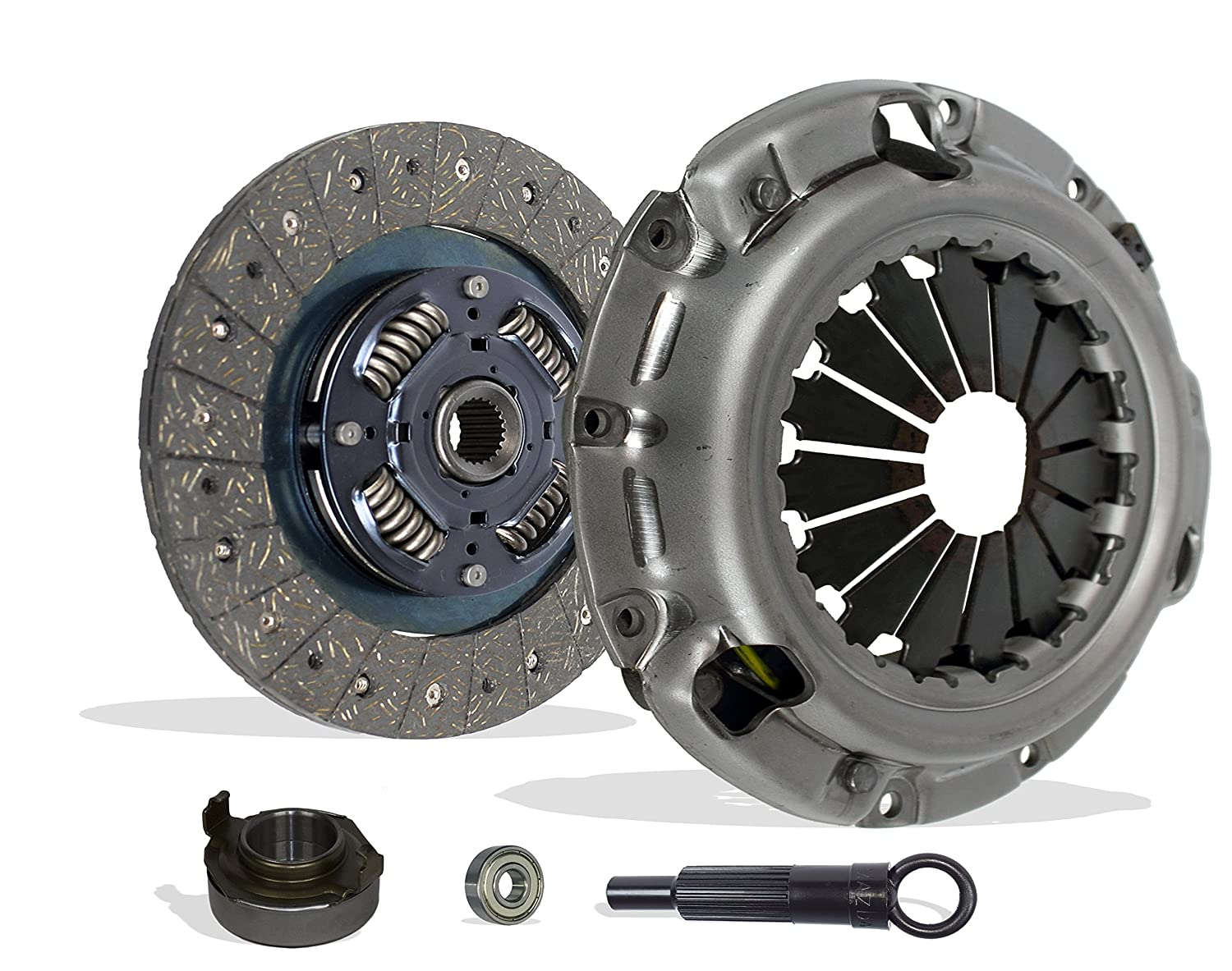 Amazon.com: Clutch Kit Works With Kia Sportage Base Ex Limited Sport Utility 1995-2002 2.0L l4 GAS DOHC Naturally Aspirated (Flywheel Spec: -.810): ...