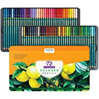 Pagos 72 Pieces Colored Pencils Set - Vivid Colors for Drawing, Coloring, Shading and Sketching, Pre-Sharpened and Ready…