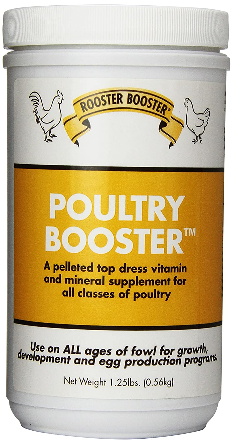 Rooster Booster Poultry Booster 1.25-Pound