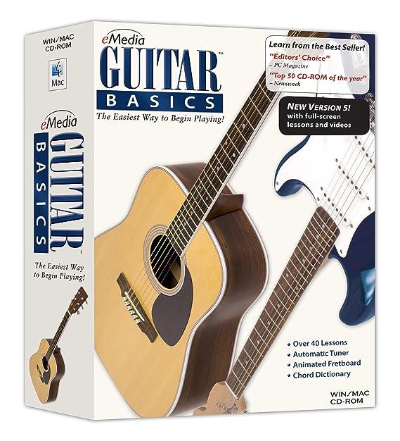 Amazon.com: eMedia Guitar Basics v5: Emedia: Software