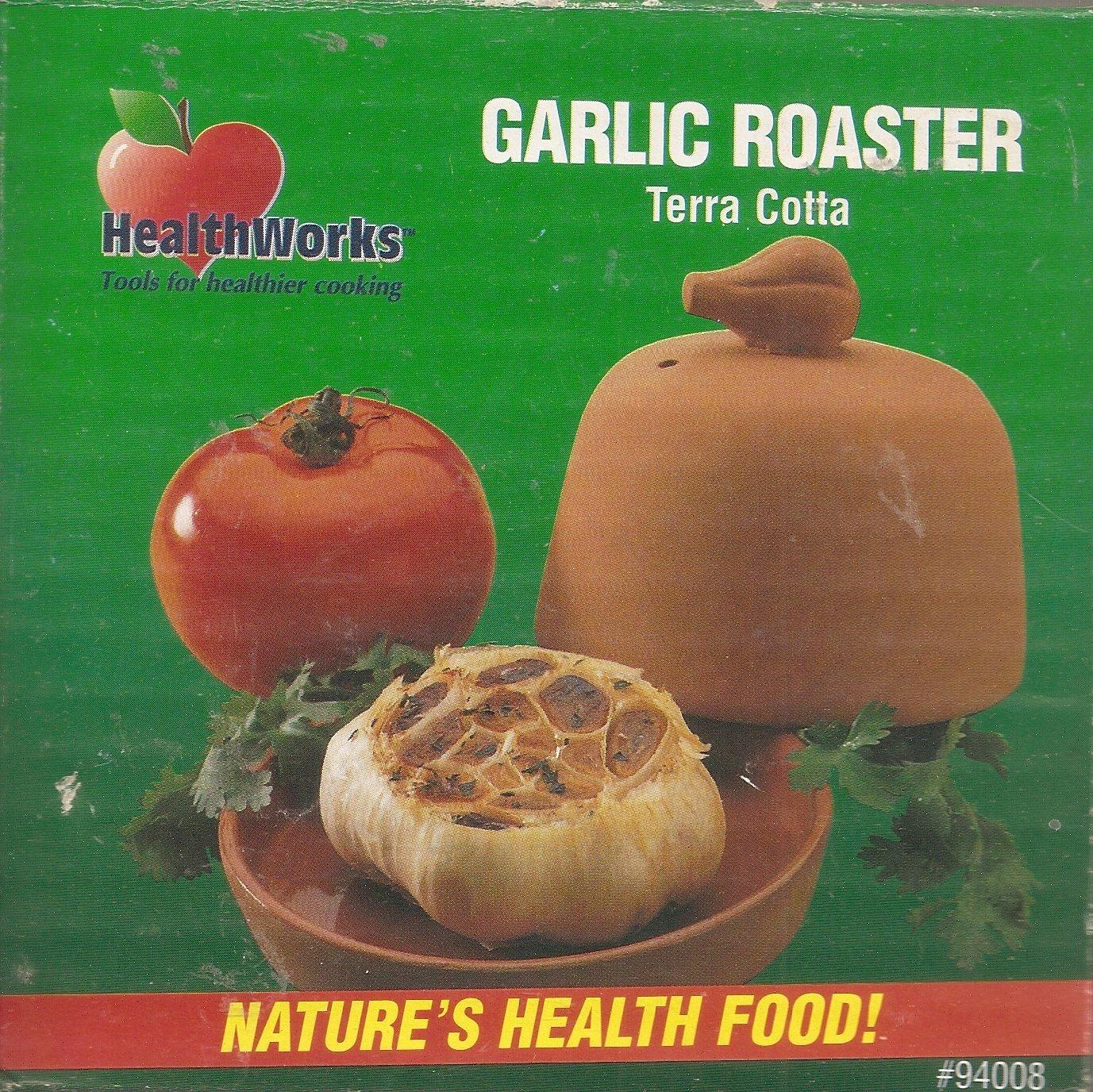 Garlic Roaster Terra Cotta