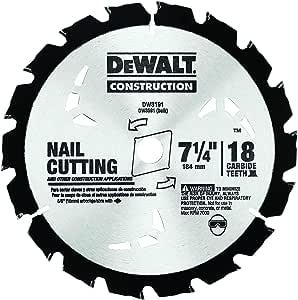 10 x Dewalt DT10624 Circular Saw Blades 165 x 20 x 24T Extreme Framing DCS391