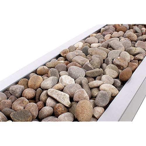 Closer2Nature 4kg Natural Coloured Smooth Scottish River Stones