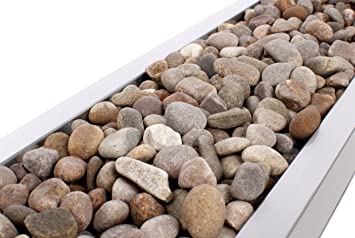 Coloured Stones For Gardens Closer2nature 4kg natural coloured smooth scottish river stones closer2nature 4kg natural coloured smooth scottish river stones workwithnaturefo
