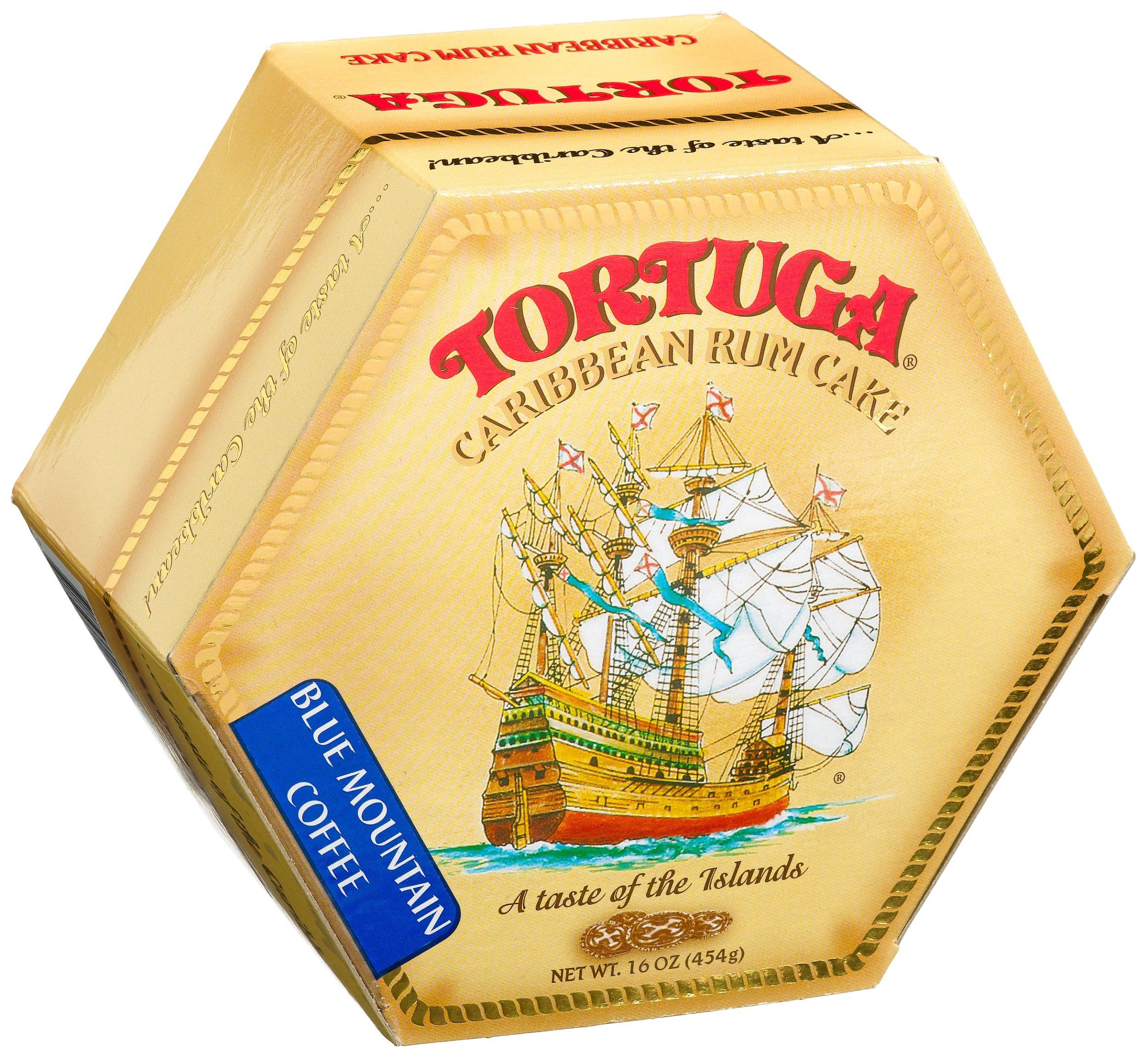 TORTUGA Caribbean Blue Mountain Rum Cake - 16 oz. - The Perfect Premium Gourmet Gift by TORTUGA (Image #2)