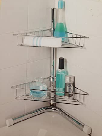 2 Tier Bath Corner Caddy: Amazon.co.uk: Kitchen & Home