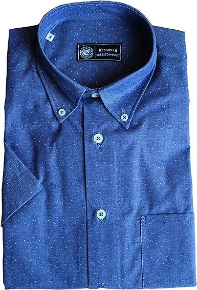 Camisa de algodón de Manga Corta - 25% Descuento (S): Amazon.es: Ropa y accesorios