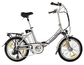 Premium xGerman Touring eléctrico-bicicleta plegable 50,8 cm eTurbo 9-velocidades LCD