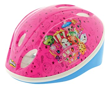 Shopkins Casco de Seguridad, ntilde;a, Color Rosa, 48-52 cm