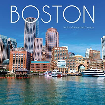 Boston Public Schools Calendar 2019-16 Amazon.: 2019 Avalon Wall Calendar, Boston, 12 x 12 Inches