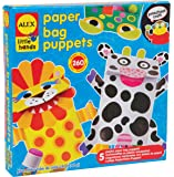 ALEX Toys Little Hands Paper Bag Puppets