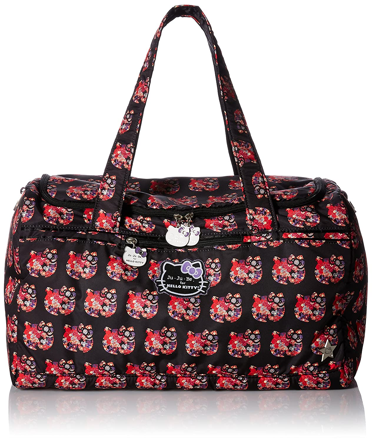 09ea8954971 Amazon.com   JuJuBe Starlet Large Overnight Duffle Bag, Hello Kitty  Collection - Hello Perky   Baby