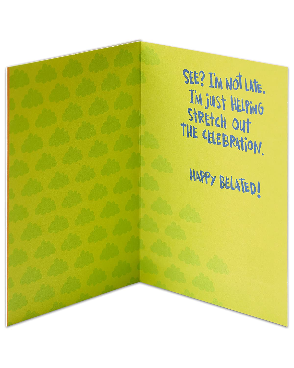 Amazon American Greetings Funny Birthday Wishes Belated