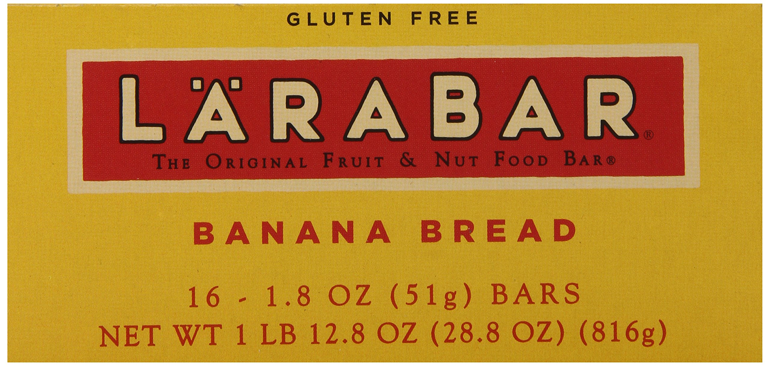 Larabar Gluten Free Bar, Banana Bread, 1.8 oz Bars (16 Count), Whole Food Gluten Free Bars, Dairy Free Snacks by LÄRABAR (Image #6)