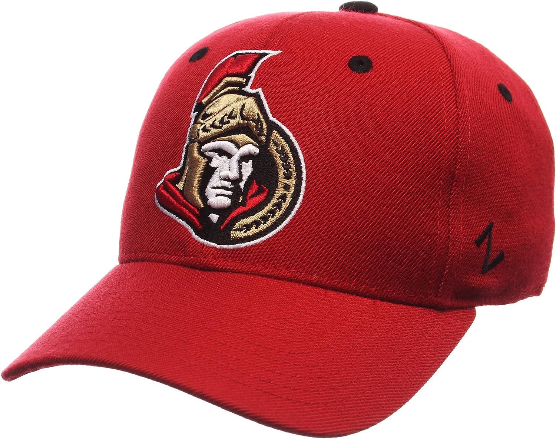 Red NHL Zephyr Ottawa Senators Mens Powerplay Fitted Hat 7/_1//2