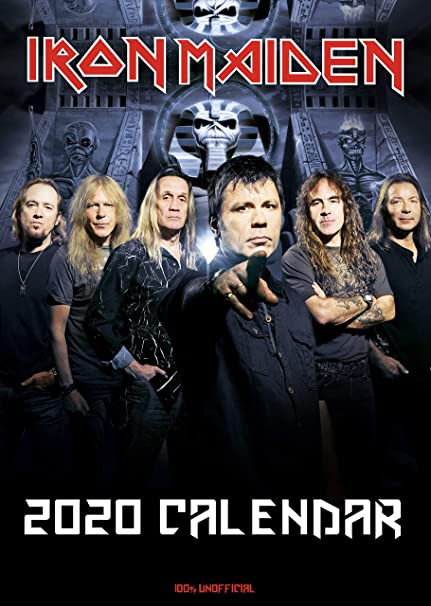 Iron Maiden Tour 2020.Iron Maiden Calendar 2020 Iron Maiden Fridge Magnet