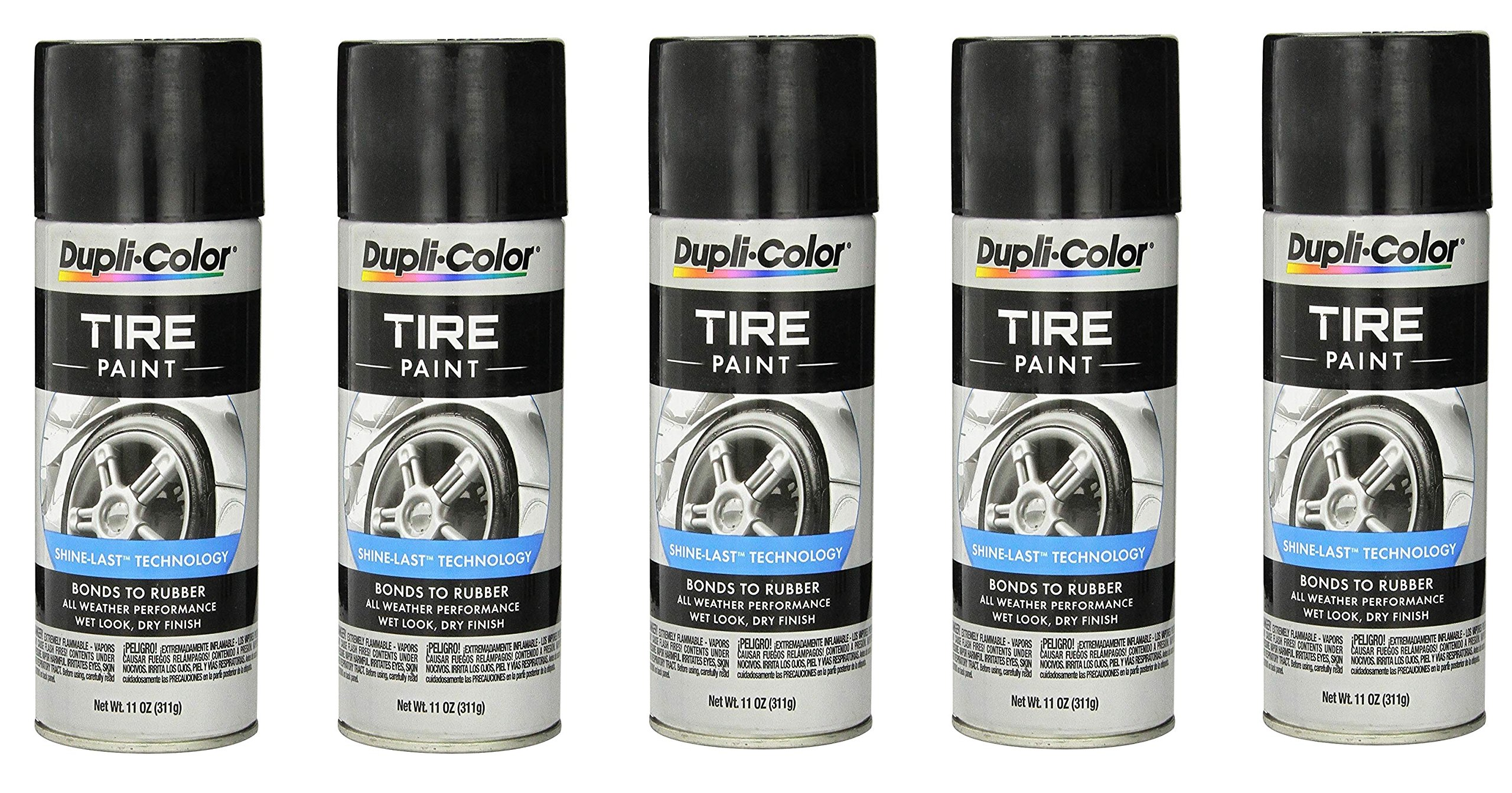 Dupli-Color ® TP101 Tire Paint - 11 fl. oz. (5) by Dupli-Color ®