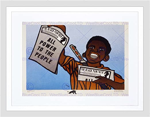 Civil Rights Black Panther Party African American Revolution Canvas Art Print