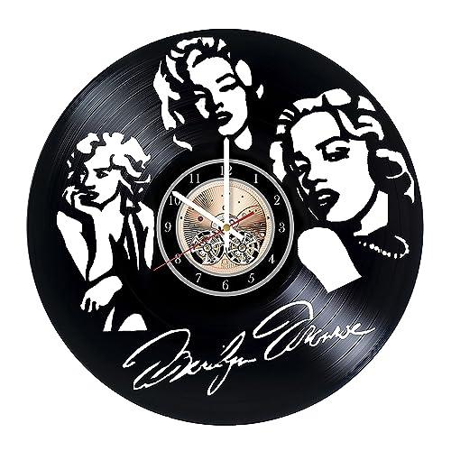 Amazon.com: Marilyn Monroe Vinyl Record Wall Clock - Get ...